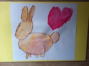 Het konijn waar ik van houdt: aqua-potloden.